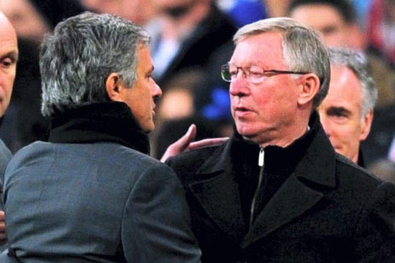 sir alex vs mourinho